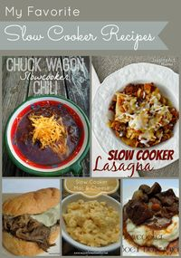 My favorite slow cooker recipes from Miss Information