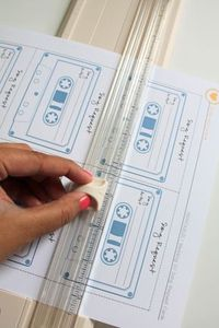 DIY Free Printable Song Request Cards