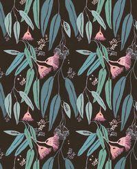 regram @justinablakeney Magical Eucalyptus #patternsbyjustina #surfacespatterns…