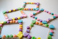 Conversation Heart Photo Frame - Preschool Inspirations