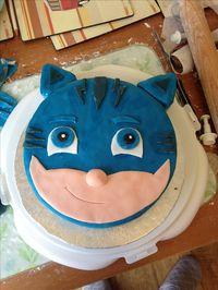 Catboy PJ masks birthday cake