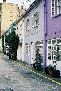 Atherstone Mews. Knightsbridge, London