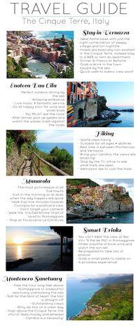 Dreams in HD: Travel Guide :: The Cinque Terre