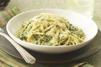 Espagueti con salsa verde Receta