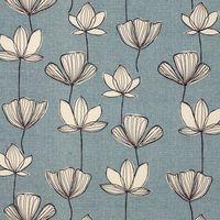 subtle blue floral pattern (John Lewis  - print & pattern)
