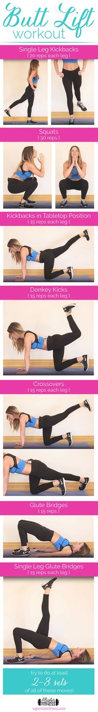 Butt Lift Workout | Exercise Your Butt | Trainer Tip Tuesday - Super Sister Fitness