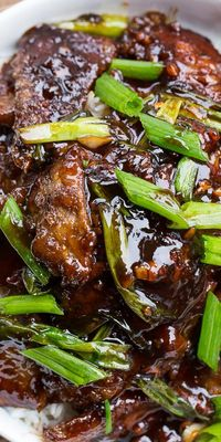 Mongolian Beef (PF Chang's copycat) - Spicy Southern Kitchen