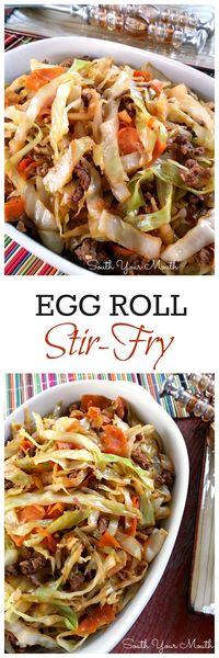 Egg Roll Stir-Fry