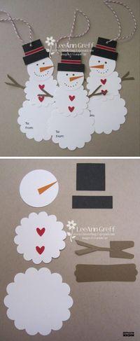 25+ DIY Snowman Craft Ideas & Tutorials -