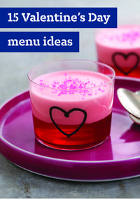 Valentine's Day Menu Ideas