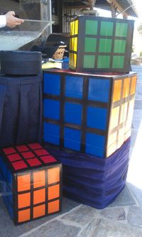 Rubic cubes for80's party
