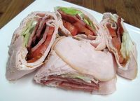 BLT and Turkey Wraps -