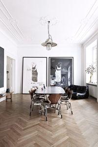 Interiors | Classic Modern Apartment | Dust Jacket | Bloglovin'