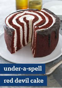 Under-a-Spell Red Devil Cake Recipe