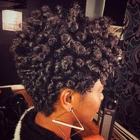 Crochet Braids On Tapered Cut : Curlkalon? Hair Collection on Instagram: ?Tapered cut inspiration ...
