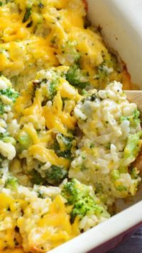 "Broccoli Cheddar Casserole  ~ This awesome homemade version contains NO ""cream of"" soups"