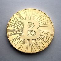 File:Physical bitcoin statistic coin.JPG
