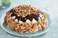 Pastel de conos dulces con helado Receta