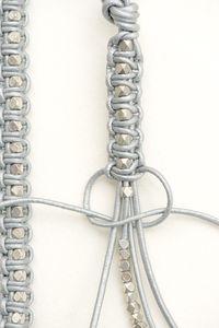 leather bracelet tutorial - Polka Pics