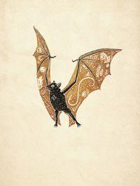 Screenprint bat