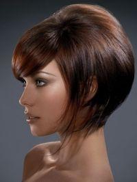 Peekaboo highlights on dark brown hair women hairstyles medium bob haircut great color pmusecretfo Image collections