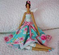 Кукла тильда платье