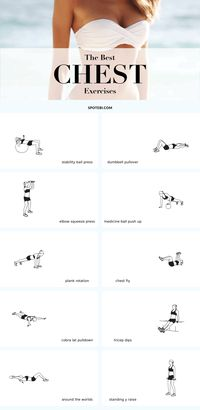 The best exercises to give your bust line a lift and make your breasts appear bigger and perkier, the natural way!