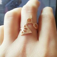Harry Potter And The Deathly Glasses Ring