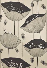 Buy MissPrint Poppy Wallpaper | John Lewis