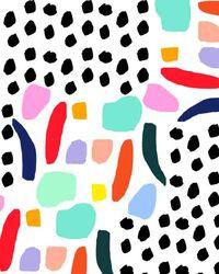 bouffantsandbrokenhearts:  Abstract Party Mix.