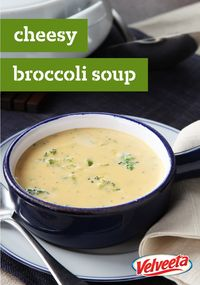 VELVEETA® Cheesy Broccoli Soup Recipe