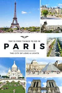 Paris is one of the world's most expensive cities, but your trip doesn't need to be pricey. For starters, here are the top 10 FREE things to do in Paris! | via http://iAmAileen.com/free-things-to-do-in-paris-france/ #travel #Paris