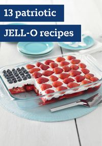 Patriotic Jell-O Recipes