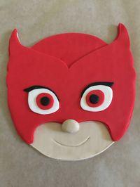 PJ Masks Inspired Cake Topper Owlette by PeaceLoveandCakeNY