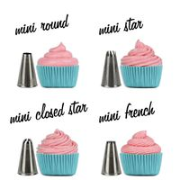 MINI Cupcake Decorating Tip Set