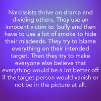 Narcissists and their bullying