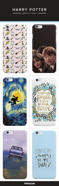 Technology & Gadgets   Harry Potter Fans Will Freak Over These Phone Cases