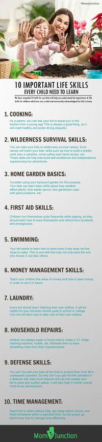 10 Best Life Skills For Children
