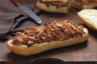 Sándwiches de cerdo a la naranja en olla de cocción lenta Receta