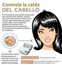 Una sencilla receta para la caida del cabello ;)