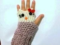 robótki-rękawiczki,szalik