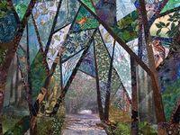 Quilts, landscapes