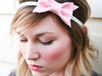 DIY :: Head bands & all fabric flowers