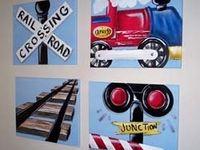 Kids bedroom art