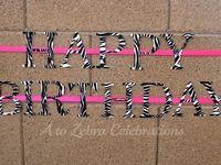 E's Birthday Ideas