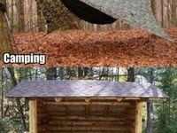 Camping more!