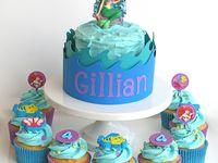 Little Mermaid Cakes