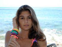 Schmuck basteln mit elastischen Stoffbändern wie Lycra (Badeanzugstoff), Jersey, T-Shirt-Stoff usw.