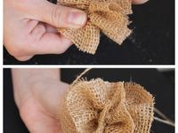 Things to make out of burlap