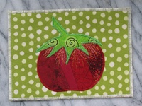 Postcards - fabric